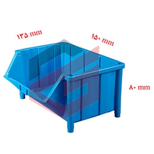 پالت پلاستیکی 80*135*150 میلیمتری