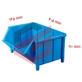 پالت پلاستیکی 110*135*205 میلیمتری