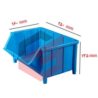 پالت پلاستیکی 135*160*250 میلیمتری