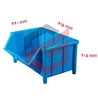 پالت  پلاستیکی 205*340*415 سانتیمتری